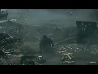 Фрагмент из фильма Горячий снег и песня Горячий снег в исполнении Юрия Гуляева.