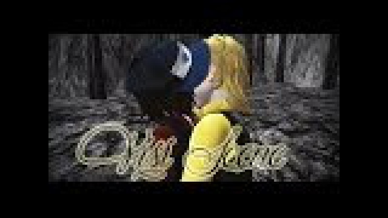 MMD Gravity Falls Kiss Scene Dipper Pines and Bill Cipher