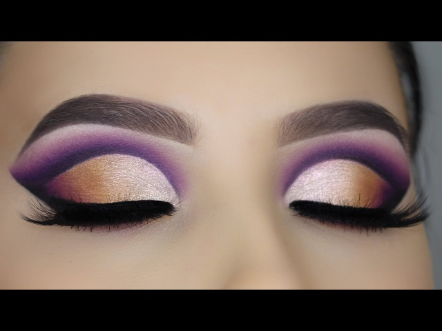 Ombre Cut Crease tutorial Makeupbyan