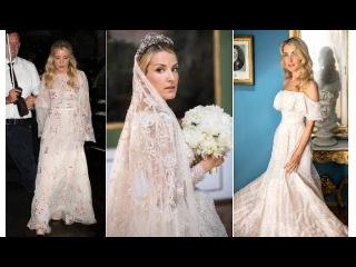 Princess Ekaterina of Hanover Spectacular Wedding Dresses by Sandra Mansour