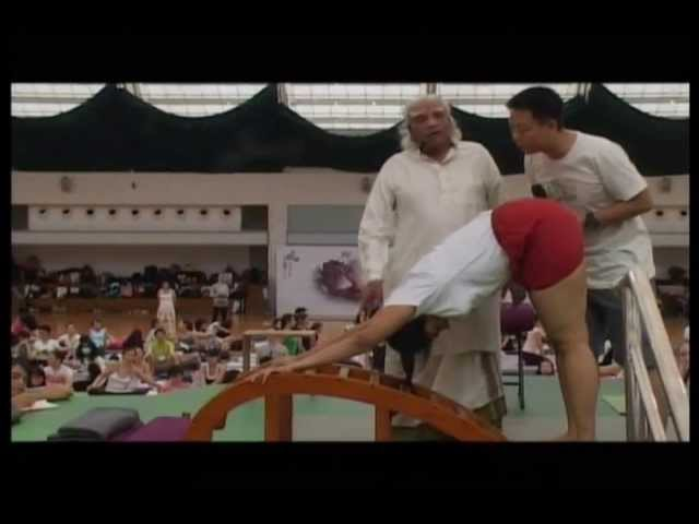Guruji BKS Iyengar's visit to China June 2011