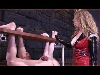 Mistress T - Extreme Humiliating Bound Milking