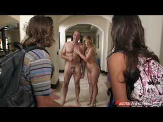 Cherie deville, steven st croix, tomi taylor meet the nudists
