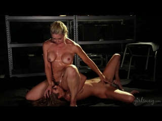 Sarah Vandella, Kat Dior (Extradition: Part Three / 2017-01-26) [Big Tits, Fetish, Tattoos, Squirting,  Lesbian] [1080p]