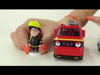 Видео для детей Маша, Кей-Кей и Олли Грузовичок. Герои мультфильма Олли веселый