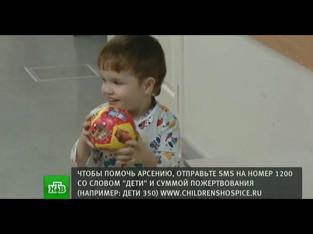 Трехлетнему Арсению срочно нужны 2 млн рублей на возвращение домой к брату близн