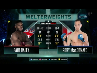 Rory macdonald vs. paul daley | [ ]