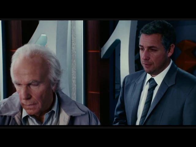 Грустный момент из фильма Клик: с пультом по жизни(Майкл узнал о смерти отца)/Click