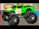 МОНСТР ТРАК. Ремонт и мойка мультик. МОНСТР ТРАК в Суперавтосервисе. Monster Trucks