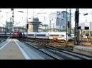 Paralleleinfahrt ICE Velaro und ÖBB Eurocity in den Münchner Hbf