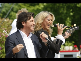 Sandra and Thomas Anders - The Night Is Still Young (ZDF Fernsehgarten, )