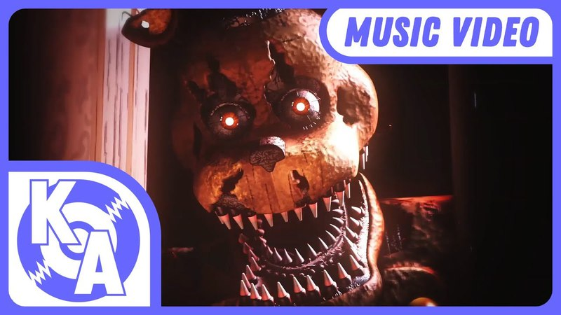FIVE NIGHTS AT FREDDYS 4 SONG | A Child Like You Remix ft. HalaCG