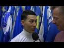 Jose Ortiz discusses his Belmont Stakes Day wins