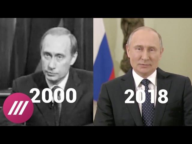 Путин 2000 —Путин 2018. Перед выборами