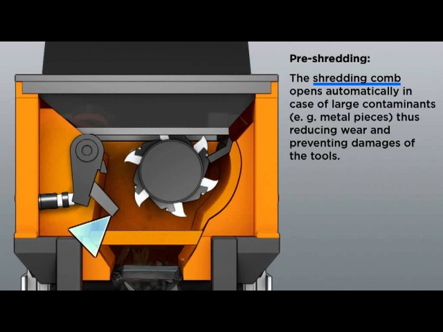 Doppstadt Combined Shredder DZ 750 Animation English