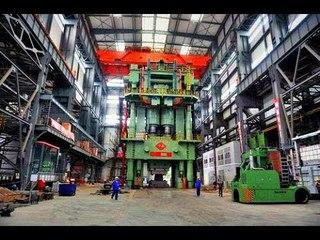 Как 10 этажный дом! Самый Мощный Китайский Кузнечный Пресс