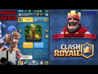 Clash Roayle-  batalhas pelo baú da coroa e fazendo missões!