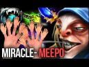 Miracle- Insane Meepo Control Rampage, new hero for mid - ready for TI8 Dota 2