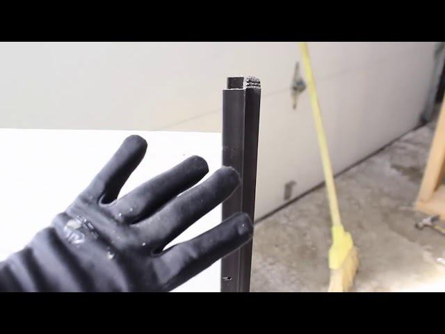 Cách lắp gioăng chặn nước chân cửa
