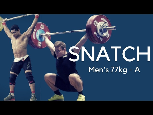 World Weightlifting Championships 2017 : Men s 77kg SNATCH Warmup Room