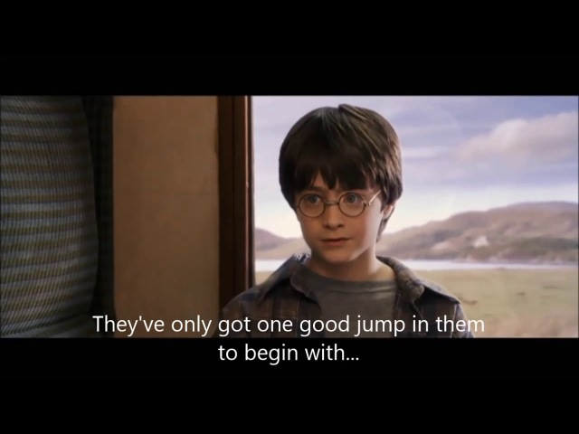 Harry Potter and the Philosopher Stone : Harry meets Ron and Hermione (English sub)