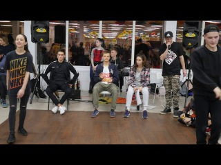 Hip-Hop Beginners Никита Мильчуков vs Barbara
