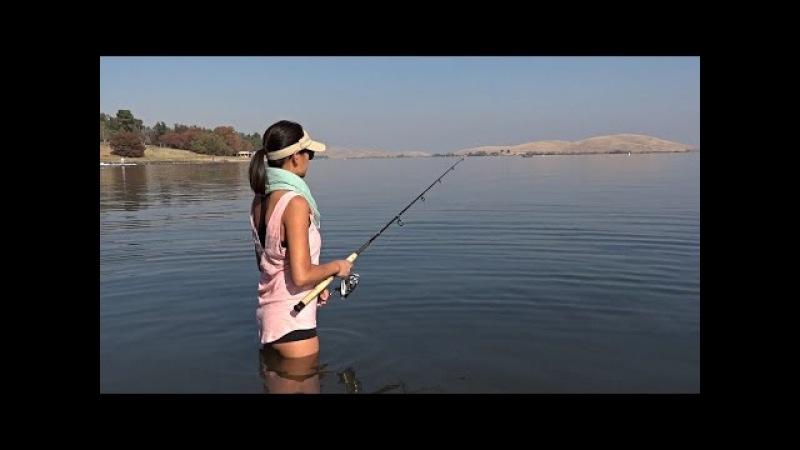 Red HOT Striper Action - Oneill Forebay San Luis Reservoir