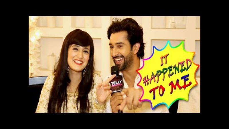 It Happened To Me With Pankhuri Awasthy Rajveer Singh   Fun Interview   Telly Reporter Exclusive