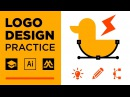 Logo Design Practice   Random Words Logo Design 1