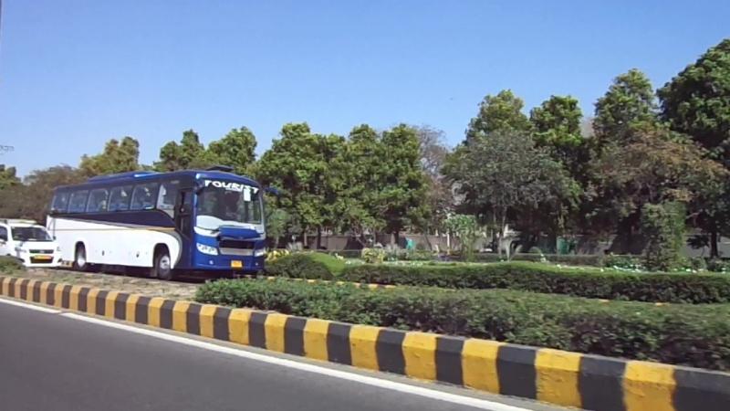 Индия Дели дорога в аэропорт