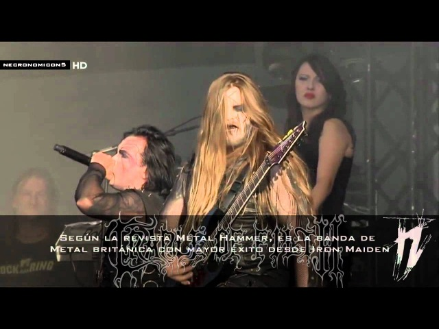 ✠ CRADLE OF FILTH ✠ Lilith Immaculate Subtitulado Wacken 2012 HD