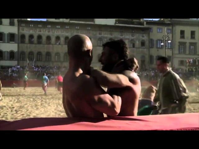 Флорентийский футбол - UFC и MMA нервно курят в сторонке