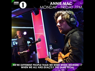 Annie chats to felix from the maccabees about the band's farewell tour