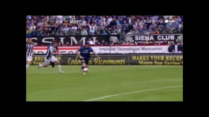 Siena Inter 0 1 Highlights Ampia Sintesi SKY Sport HD 16 05 2010 Serie A FINALE 18° SCUDETTO