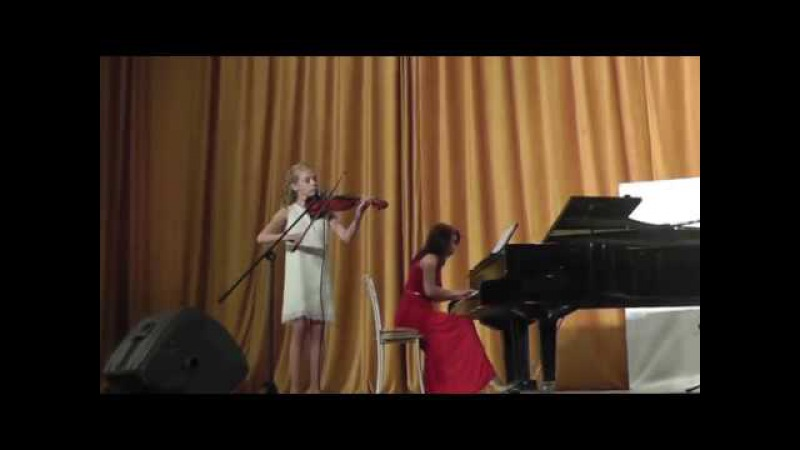 Антонио Вивальди Концерт соль минор 1 часть Кашицына Катя Vivaldi Concerto for Violin in G minor
