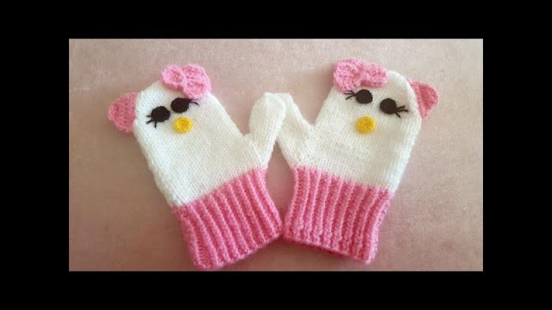 Hello Kitty Eldiven Yapımı