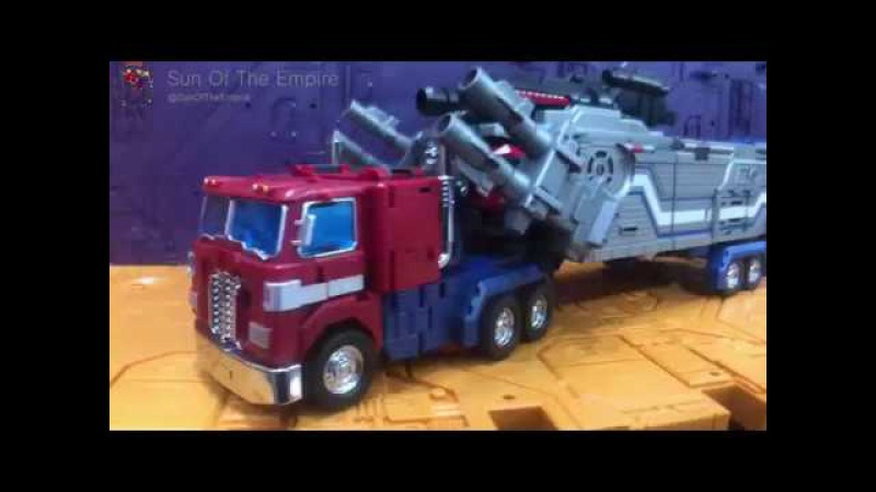 Fanshobby MB 06 Power Baser 戰威 Quick Review Part 2 Transformation Guide Truck to Combine Mode