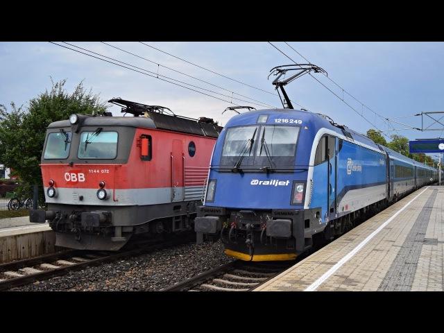 Züge Baden bei Wien ● Südbahn ● 10.08.2017
