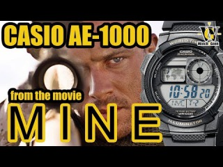 Casio AE 1000 from the movie Mine - a review and tutorial