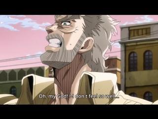 Jojos bizarre adventure joseph joestar oh my god animewebm