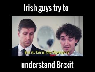 What is it, Brexit? Irish view. Ирландец выясняет, что есть Брексит.