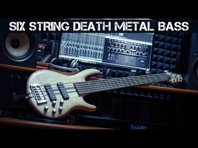 Six String Death Metal Bass - CORT A6