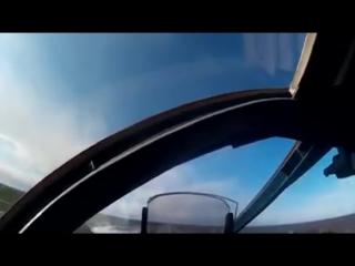 Экипажи истребителей Су-30М2 и бомбардировщика Су-34 Южного военного округа впервые отработали конвейерную посадку самолетов на