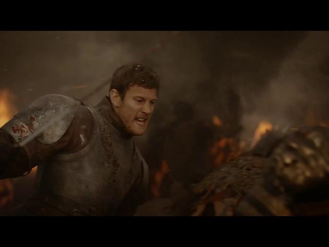 Игра престолов Дейенерис орда дотракийцев атакуют войско Ланнистеров