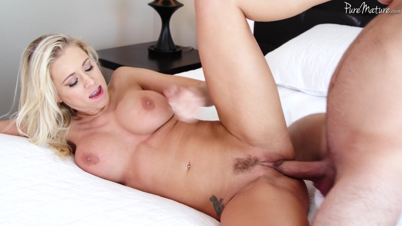 Katie Morgan - In Search of a Hard Cock [MILF,Gonzo,Big Tits,Blowjob,Blonde,Hardcore,All Sex,New Porn 2017]