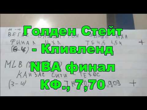 КФ, 7,70 Голден Стейт-Кливленд NBA финал прогноз Golden State Warriors-Cleveland Cavaliers final