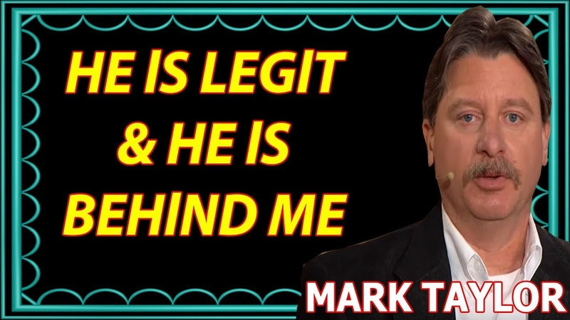 🔴 Mark Taylor New Prophecy (March 22, 2019) — HE lS LEGlT AND HE lS BEHlND ME