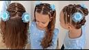 Penteado Infantil com Ligas Tranças Maria Chiquinha ou Coques