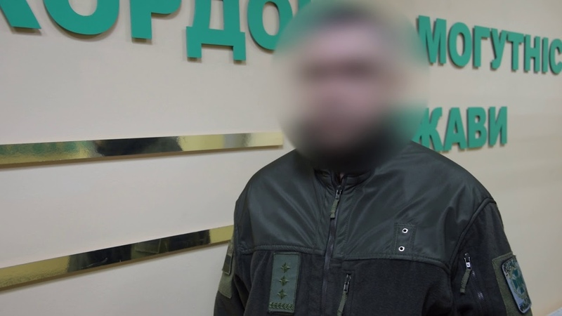 Чоловіка який можливо відповідав за розробку тактики бойових дій НЗФ викрили прикордонники