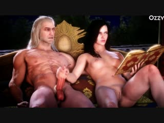 3D porn - Yennefer collection (sex, anal, futa_ futanari)3 д порно.Ведьмак.Подборка.минет.секс.